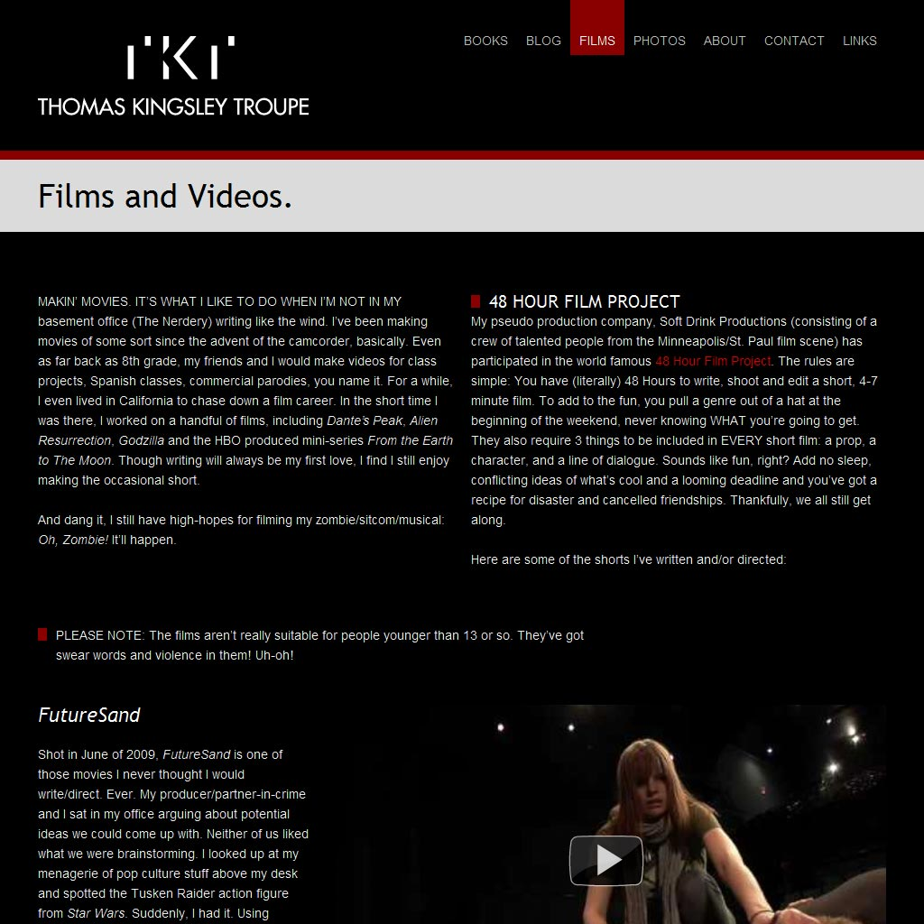 Films Page